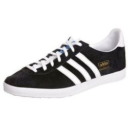 adidas Originals GAZELLE OG Tenisówki i Trampki black/white/metallic gold