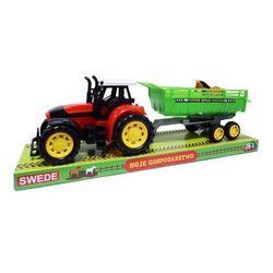 Zabawka SWEDE Traktor Z Przyczepą