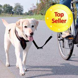 Trixie zestaw rowerowy, uchwyt i smycz - Zestaw