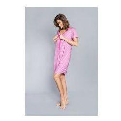 4bdce285eae352 Koszula z rewersem Italian Fashion - Sitia Różowa