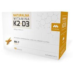 WITAMINA K2 MK-7 NATURALNA + D3, 50 KAPSUŁEK