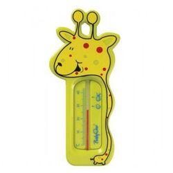 Termometr do kąpieli zielona żyrafa