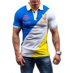 Niebieska koszulka polo męska Denley 3216 - NIEBIESKI Spodnie dresowe 39,99 06.10.2015 (-20%)