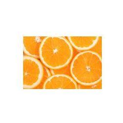 Foto naklejka samoprzylepna 100 x 100 cm - Tło plastry pomarańczy