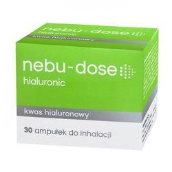 Nebu-Dose hialuronic roztwór izotoniczny do inhalacji 30 ampułek