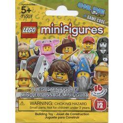 Lego MINIFIGURES 1 el. losowo wybranej minifigurki - 12 seria minifigurki 71007