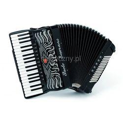 Paolo Soprani Super Paolo 37/96 Cassotto (2+2) 37/4/11+M 96/5/5 Piccolo akordeon (czarny) Płacąc przelewem przesyłka gratis!