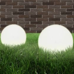 vidaXL Lampa ogrodowa w kształcie kuli E27 25 cm Darmowa wysyłka i zwroty