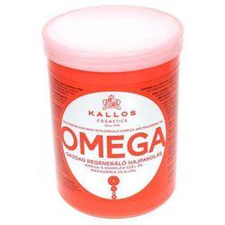 KALLOS OMEGA Regenerująca maska do włosów z kwasami omega i witaminami 1000ml