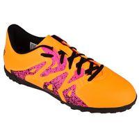 przemyślenia na temat różne style zniżka Buty ADIDAS X 15.4 Turfy Junior S74611 (rozmiar 38) Czarno-pomarańczowy