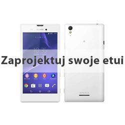 - Sony Xperia T3 - etui z nadrukiem