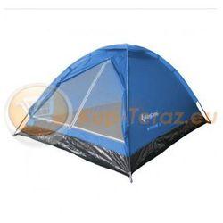 Namiot turystyczny 3 osobowy lekki z tropikiem King Camp MONODOME III KT3010 BLUE niebieski