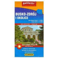 Busko Zdrój i okolice Mapa turystyczna 1:75 000