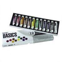Farby akrylowe Liquitex BASICS 12 x 22 ml