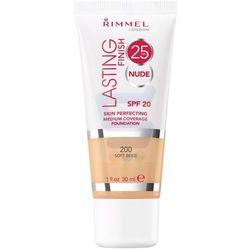 Rimmel Lasting Finish 25h Nude Podkład Soft Beige nr 200 30 ml
