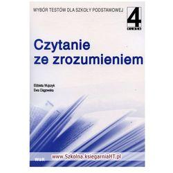 Język polski SP KL 4. Czytanie ze zrozumieniem (opr. miękka)