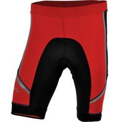 Męskie spodnie rowerowe Silvini Salia MP457 red