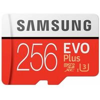 Karta pamięci SAMSUNG EVO Plus 256GB MicroSD MB-MC256HA/EU + adapter SD