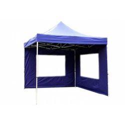 Rovens.pl Niebieski pawilon do ogrodu - 3x3m - 4 ścianki - namiot ogrodowy