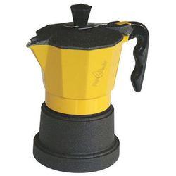 Kawiarka Top Moka TOP 6 filiżanek - czarno żółta
