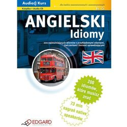 Angielski. Idiomy (+ CD) (opr. twarda)