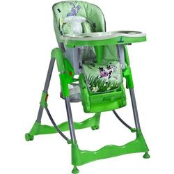 Krzesełko do karmienia CARETERO Magnus Fun zielony + DARMOWY TRANSPORT!