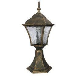 Zewnętrzna LAMPA stojąca TOSCANA 8393 Rabalux IP43 OPRAWA ogrodowa SŁUPEK outdoor złoto antyczne