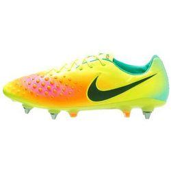 Nike Performance MAGISTA OPUS II SGPRO Korki wkręty volt/black/total orange/pink blast/hyper turquoise/clear jade