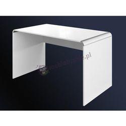 Białe biurko do manicure 100 cm wysoki połysk