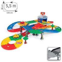 Garaż z trasą 2-poziomowy Kid Cars 5,5m Wader
