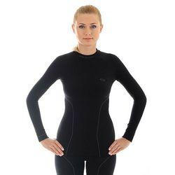 Bluza Koszulka Damska Brubeck Thermo LS10670 Czarna