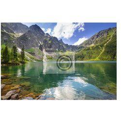Fototapeta Piękne krajobrazy z Tatr i jeziora w Polsce