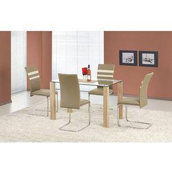 Stół z blatem szklanym HALMAR MAXWEL