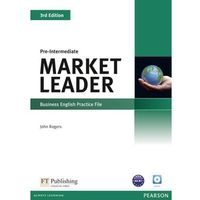 Market Leader 3rd Ed Pre-Intermediate Business English Practice File (opr. miękka)