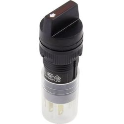Przełącznik obrotowy 250 V/AC 5 A Pozycje przełączenia 2 1 x 90 ° DECA ADP16C4-AA1-1A0K IP40 1 szt.