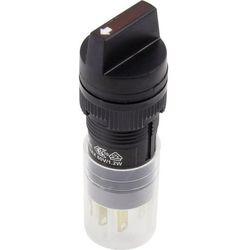 Przełącznik obrotowy 250 V/AC 5 A Pozycje przełączenia 2 1 x 90 ° DECA ADP16C4-AA1-1AHY IP40 1 szt.