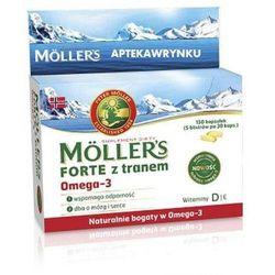MOLLERS Forte z tranem x 150 kapsułek