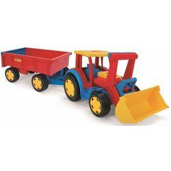 Gigant Traktor Ładowarka z przyczepą