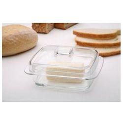 Maselniczka maselnica szklana JASŁO