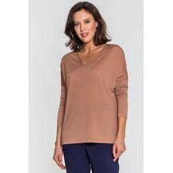 266e8e5970 bluzki damskie bluzka w orientalne wzory (od Bluzka w drobny wzór ...
