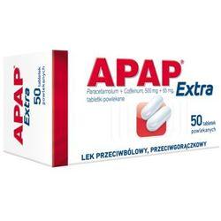 Apap Extra tabl.powl. (0,5g+0,065g) 50tabl