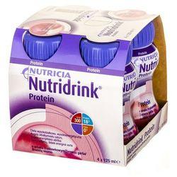 Nutridrink Protein (smak truskawkowy) 4 x 125 ml ZESTAW!!!