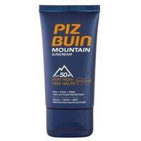 Piz Buin Mountain krem do opalania do twarzy SPF 50+ + do każdego zamówienia upominek.