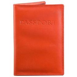 70b9440c96b75 Czerwona Okładka antyRFID na Paszport Biometryczny Sztuczna Skóra -  Czerwony połysk
