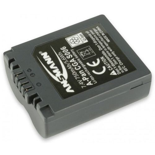 Akumulator ANSMANN do Panasonic A-Pan CGA S006 (750 mAh)