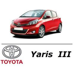 Toyota Yaris III - Światła do jazdy dziennej LED DRL W21/5W - Zestaw 2 żarówki