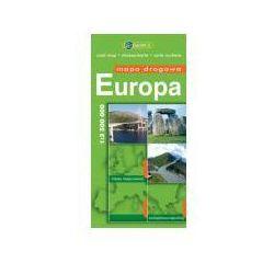 Europa. Mapa drogowa w skali 1:3 500 00