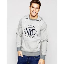Tommy Hilfiger Hoodie With Nyc Print - Grey