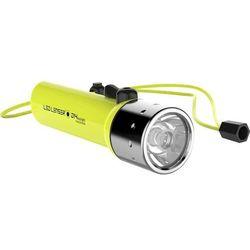 Latarka kieszonkowa LED D14.2 Daylight LED Lenser 9214-W, 300 lm, 200 m 15 h, Baterie, Żółty neonowy