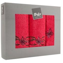 Komplet ręczników Butterfly - 3 el.